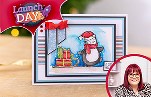Launch Day - 1st October - NEW Penguin Stamps