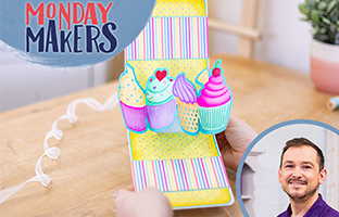 Monday Makers - 3rd May - Twist & Pop, Pop Out Shape Sentiments & Inverted Nesting Dies