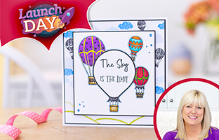 Launch Day - 7th May - NEW Aperture Stamps