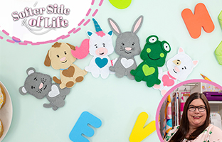 Softer Side Of Life - 8th August - NEW Build-an-Animal Applique Dies