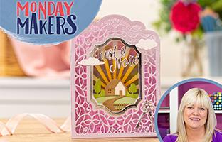 Monday Makers - 8th Feb - Aperture Diorama, TT/CC Storage, Spinner Dies