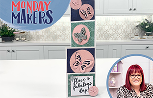 Monday Makers - 9th August - Monday Makers - Lift'ables, Penny Sliders & Foilpress Segment with Foilpress Deal