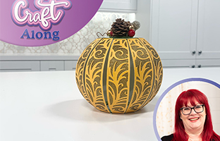 Craft Along - 10th October - Christmas Decoration & Pumpkin Dies