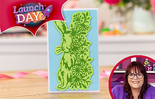 Launch Day - 10th Feb - NEW Floral Animal Dies