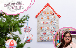 Softer Side Of Life - 11th July  - NEW Threaders Gingerbread Lane Fabric