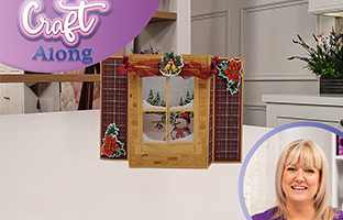 Craft Along - 12th August - Christmas Dimensional Scene Dies