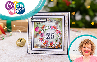 Colour Me Happy - 13th August - NEW Christmas Mini Collage Stamps