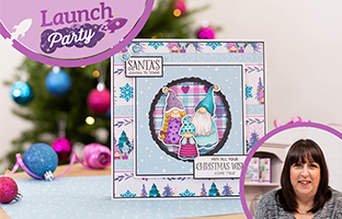 Launch Party - 13th July -Floral Spray Stamp and Dies - Christmas, Brush Lettering Stamps and more