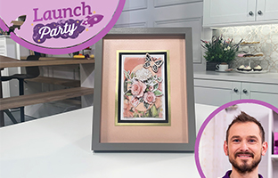 Launch Party - 14th September - NEW Mat & Layering Dies, Christmas Floral Frames and more