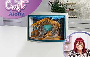 Craft Along - 16th September - Christmas Big Scene CACD