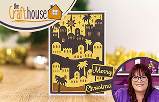The Craft House - Double Sided Create-a-Card dies with Debby -  Saturday 18th July