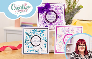 Creative Cravings - 19th May -  Rotation Stamps, Inverted Nesting Dies