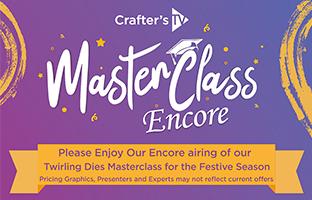 Master Class - Friday 1st January