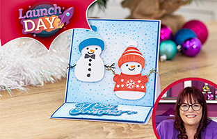 Launch Day Double-Sided Topper & Image Dies with Debby - Saturday 1st August
