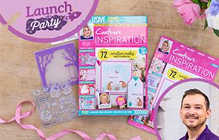 Launch Party - 20th April - NEW CI30 Magazine, Pop Out Scene, Floral Frames