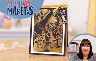 Monday Makers - 23rd August - Brush Lettering, Sara Signature Nutcracker Box