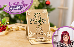 Launch Party - 24th August  - Christmas Abstract CACD, Christmas Create-a-Scene Edge'ables