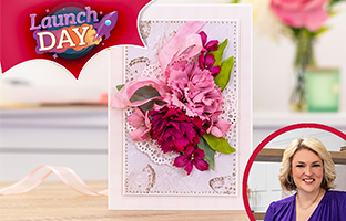 Launch Day - 25th March - NEW Foam Flowers Spring Collection