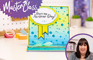 Master Class - 25th May - Stencils, Embossing and Mixed Media