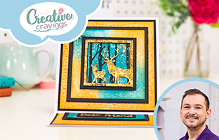Creative Cravings - 26th May - Silhouette Animals, Decorative Border Dies