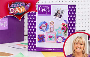 Launch Day - 26th July - NEW Year of Craft 3 Tier Box - Box #3 Big Celebrations
