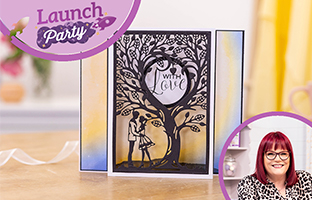 Launch Party - 27th April - Delicate CACD, Shaped Word Dies, Totally Tiffany Buddy Bags