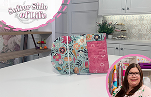 Softer Side of Life - 27th June - Threaders Pattern Packs and Suede Effect Fabric