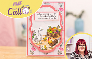 Wake Up Call with Craft Vault - 27th April