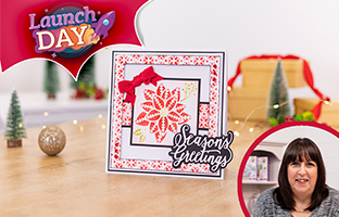 Launch Day - 29th August - NEW Christmas Simple Stencils & Mixed Media