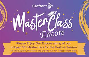 Master Class - Wednesday 30th December