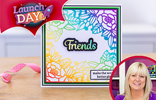 Launch Day - 31st March - NEW Floral Frames