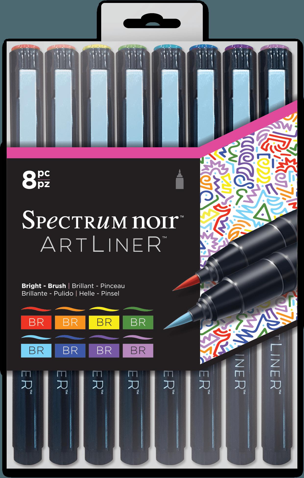 ArtLiner Fine Line Pens - Sets of 8