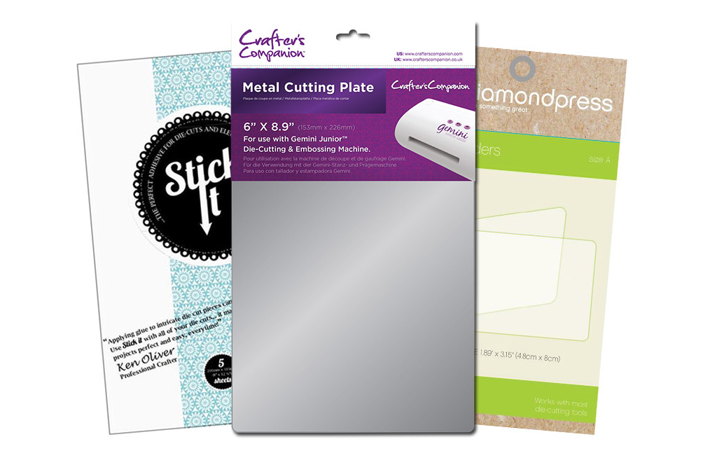 Crafter/'s Companion Replacement Gemini A4 Clear Cutting Plate Accessory 2PK