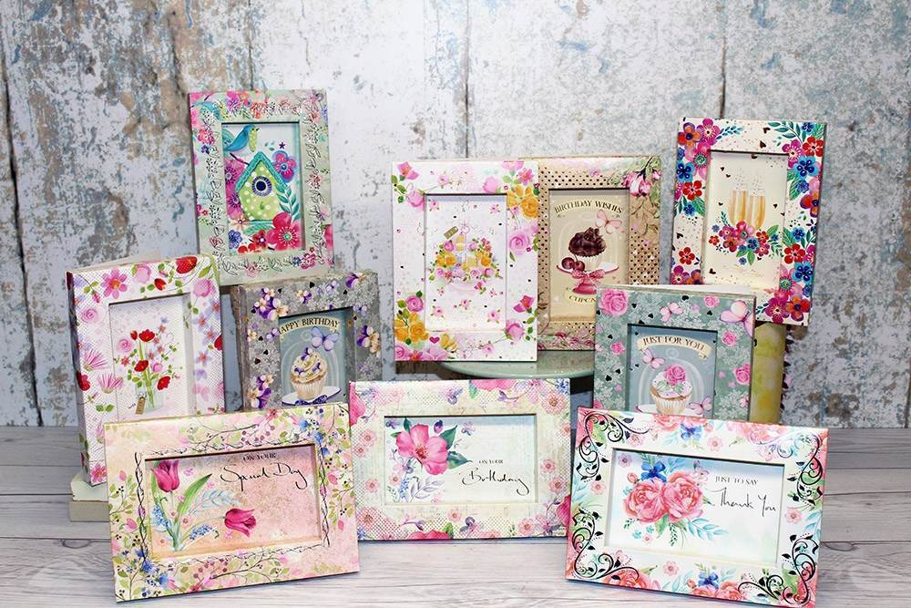 Crafter's Companion Frame and Dome Kit Cards - June 2018