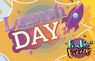 Launch Day - 14th May - Freebie Frenzy Event