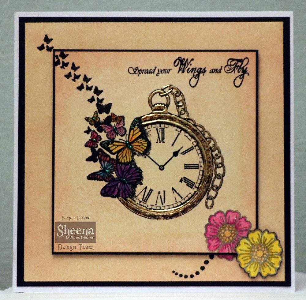 Crafter's Companion Stamps by Donna Ratcliff