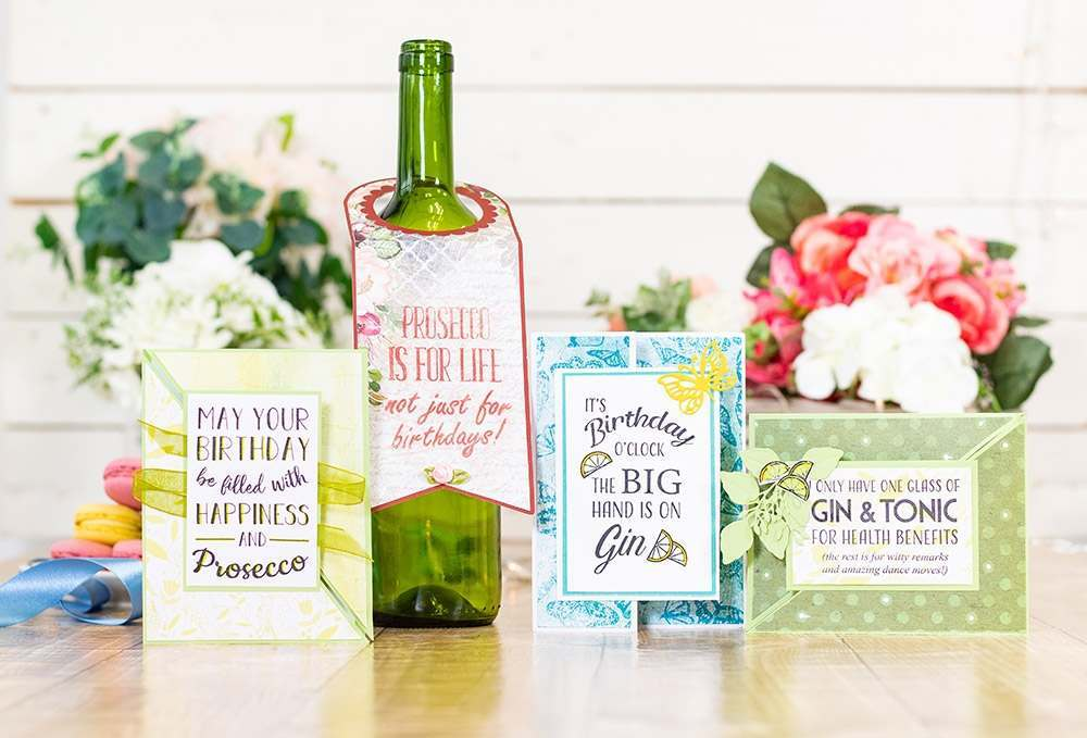 Quirky Prosecco Stamps