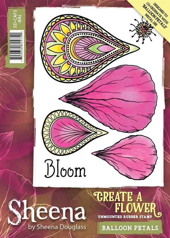 Sheena Douglass Create a Flower - Stamps