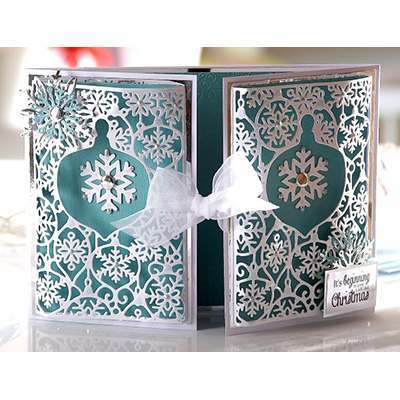 Create a Card Christmas A6 Dies