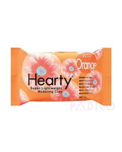 Hearty Air Drying Modelling Clay - Orange