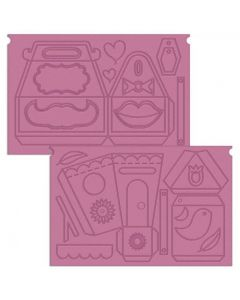Crafter's Companion Sweet Treats Ultimate Pro Embossing Board - Sweet Things