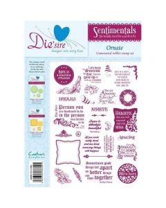 Sentimentals Rubber Stamps - Ornate
