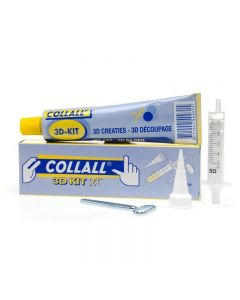 Collall 80ml SILICONE 3D Kit with Tools