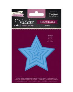 Die'sire Essentials Metal Die - Stars