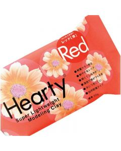Hearty Air Drying Modelling Clay - Red