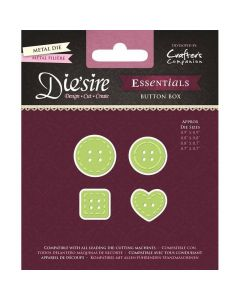 Die'sire Essentials Metal Die - Button Box