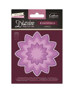 Die'sire Essentials Metal Die - Dahlia