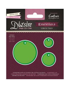 Die'sire Essentials Metal Die - Circle Tags