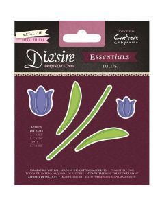 Die'sire Essentials Metal Die - Tulips