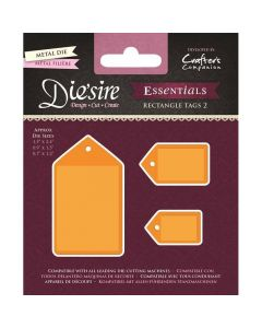Die'sire Essentials Metal Die - Rectangle Tags 2